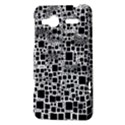 Block On Block, B&w HTC Radar Hardshell Case  View3