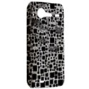 Block On Block, B&w HTC Incredible S Hardshell Case  View2