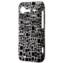 Block On Block, B&w HTC Incredible S Hardshell Case  View3