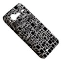 Block On Block, B&w HTC Incredible S Hardshell Case  View5