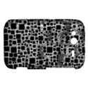 Block On Block, B&w HTC Wildfire S A510e Hardshell Case View1
