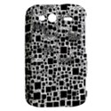 Block On Block, B&w HTC Wildfire S A510e Hardshell Case View2