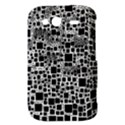 Block On Block, B&w HTC Wildfire S A510e Hardshell Case View3