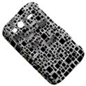 Block On Block, B&w HTC Wildfire S A510e Hardshell Case View5