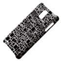 Block On Block, B&w Samsung Infuse 4G Hardshell Case  View4