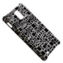Block On Block, B&w Samsung Infuse 4G Hardshell Case  View5