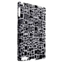 Block On Block, B&w Apple iPad 2 Hardshell Case (Compatible with Smart Cover) View2