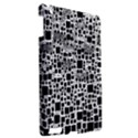 Block On Block, B&w Apple iPad 3/4 Hardshell Case View2