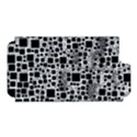 Block On Block, B&w Apple iPhone 5 Hardshell Case (PC+Silicone) View1