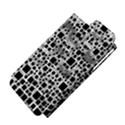 Block On Block, B&w Apple iPhone 5 Hardshell Case (PC+Silicone) View4