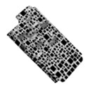 Block On Block, B&w Apple iPhone 5 Hardshell Case (PC+Silicone) View5