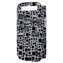 Block On Block, B&w Samsung Galaxy S III Hardshell Case (PC+Silicone) View3