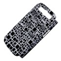 Block On Block, B&w Samsung Galaxy S III Hardshell Case (PC+Silicone) View4