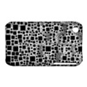 Block On Block, B&w Apple iPhone 3G/3GS Hardshell Case (PC+Silicone) View1