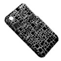 Block On Block, B&w Apple iPhone 3G/3GS Hardshell Case (PC+Silicone) View5