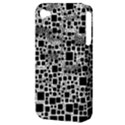 Block On Block, B&w Apple iPhone 4/4S Hardshell Case (PC+Silicone) View3