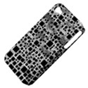 Block On Block, B&w Apple iPhone 4/4S Hardshell Case (PC+Silicone) View4