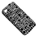 Block On Block, B&w Apple iPhone 4/4S Hardshell Case (PC+Silicone) View5