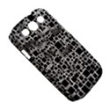 Block On Block, B&w Samsung Galaxy S III Classic Hardshell Case (PC+Silicone) View5
