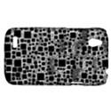Block On Block, B&w HTC Desire V (T328W) Hardshell Case View1