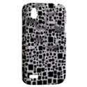 Block On Block, B&w HTC Desire V (T328W) Hardshell Case View2