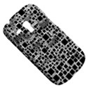 Block On Block, B&w Samsung Galaxy S3 MINI I8190 Hardshell Case View5
