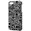 Block On Block, B&w Apple iPhone 5 Hardshell Case with Stand View3