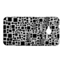Block On Block, B&w HTC One M7 Hardshell Case View1