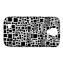 Block On Block, B&w Samsung Galaxy S4 Classic Hardshell Case (PC+Silicone) View1