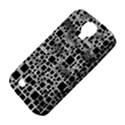 Block On Block, B&w Samsung Galaxy S4 Classic Hardshell Case (PC+Silicone) View4