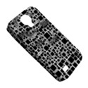 Block On Block, B&w Samsung Galaxy S4 Classic Hardshell Case (PC+Silicone) View5
