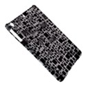 Block On Block, B&w iPad Air Hardshell Cases View5