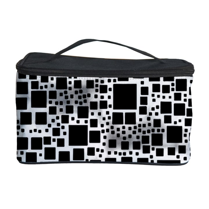 Block On Block, B&w Cosmetic Storage Case