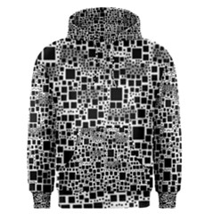 Block On Block, B&w Men s Pullover Hoodie