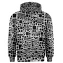 Block On Block, B&w Men s Pullover Hoodie View1