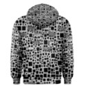 Block On Block, B&w Men s Pullover Hoodie View2