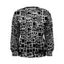 Block On Block, B&w Women s Sweatshirt View1