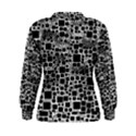 Block On Block, B&w Women s Sweatshirt View2