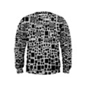 Block On Block, B&w Kids  Sweatshirt View1