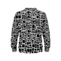 Block On Block, B&w Kids  Sweatshirt View2