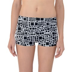 Block On Block, B&w Boyleg Bikini Bottoms