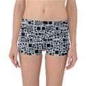 Block On Block, B&w Boyleg Bikini Bottoms View1
