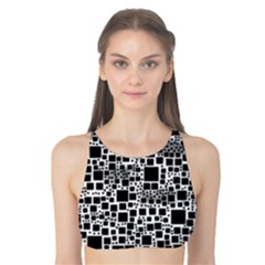 Block On Block, B&w Tank Bikini Top