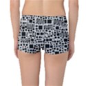 Block On Block, B&w Reversible Boyleg Bikini Bottoms View2