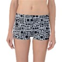 Block On Block, B&w Reversible Boyleg Bikini Bottoms View3
