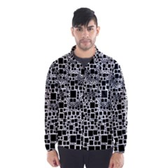 Block On Block, B&w Wind Breaker (men)