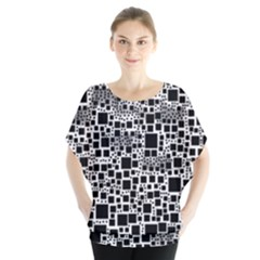 Block On Block, B&w Blouse