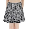 Block On Block, B&w Pleated Mini Skirt View1