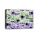 Block On Block, Purple Mini Canvas 6  x 4  View1