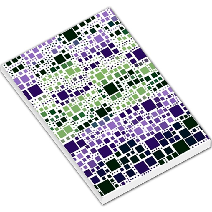 Block On Block, Purple Large Memo Pads